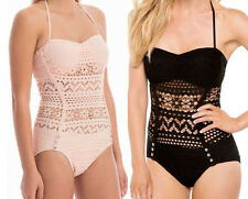New Lady's Sexy Handmade Swimwear Crochet Beach Swimsuit MONOKINI Knit Bikini BL