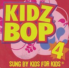 Kidz Bop 4 Sung by Kids for Kids CD 2009 McDonald's Happy Meal Toy 5 Songs