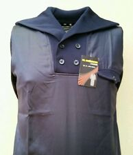 Mens BROWN or BLUE Jubba with Stylish Collar Jubbah Thobe Islamic Clothing