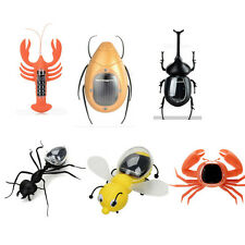 Solar Powered Insect Educational Toys Series Bee Scarab Lobster Beetle Ant Crab