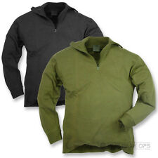 BRITISH ARMY STYLE NORWEGIAN THERMAL SHIRT BASE LAYER COLD WEATHER WARM