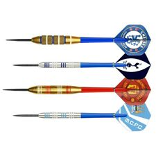 FOOTBALL CLUB FLIGHTS & TUNGSTEN DARTS SET Red Dragon™ Dart Stems, Flights, Case