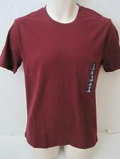 GAP Men's Burgundy Short Sleeve Crew Neck T-Shirt Size XS,S,XL NWT