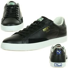 Puma Men's Sneakers Match Vulc Lthr Leather 356165 01 black