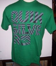 NEW Quiksilver  tee short sleeve t shirt men sz large green gray black