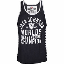 Roots of Fight Jack Johnson Striped Tank