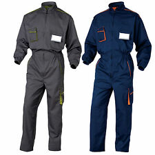 Delta Plus Panoply Mens Coverall Overall Boilersuit Kneepad - M6COM