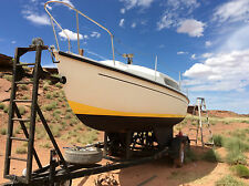 Rare Vintage 1969 Snapdragon Thames Marine 26' Sailboat, with trailer!
