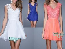 New Short Mini Bridesmaid Dresses Party Cocktail Evening Gown Prom Dresses 6-16