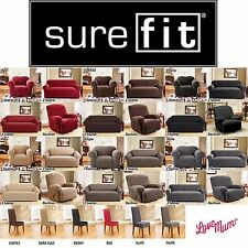 SUREFIT Stretch Sofa Lounge Couch Covers Recliner 1 Seater 2 Seater 3 Seater