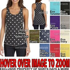 Alternative Apparel Junior Ladies Meegs Eco Jersey Racerback Tank Top S-XL NEW!