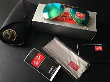 Ray Ban  3025 Aviator Sunglasses  with Flash Mirror Lens
