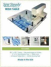 Janome MC-15000 HORIZON Sew Steady Ultimate Wish Table PACKAGE  Made in USA