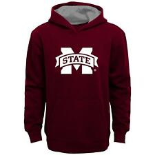 """Mississippi State Bulldogs Youth NCAA """"Primary"""" Pullover Hooded Sweatshirt"""