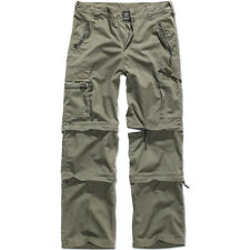 Brandit Savannah 3 In 1 Trekking Trousers Hiking Shorts Cotton Army Pants Olive