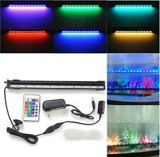 9.8/12/18inch LED Flood Bubble Light Stip + 44 Keys RC Remote For Fish Tank