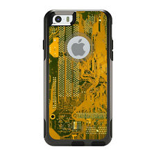 OtterBox Commuter for iPhone 5S SE 6 6S 7 Plus Yellow Circuit Board