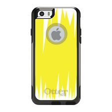 OtterBox Commuter for iPhone 5S SE 6 6S 7 Plus Yellow White Spikes