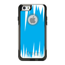OtterBox Commuter for iPhone 5 5S SE 6 6S Plus Bright Blue White Spikes