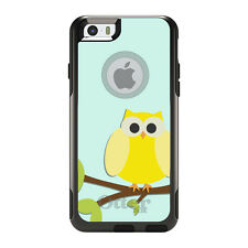 OtterBox Commuter for iPhone 5 5S SE 6 6S Plus Yellow Owl Cartoon