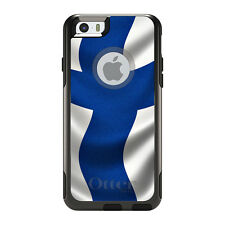OtterBox Commuter for iPhone 5S SE 6 6S 7 Plus Finland Waving Flag