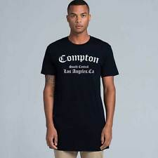 COMPTON South Central TALL TEE T-shirt LA CA Straight Outta Los Angeles NWA Hip