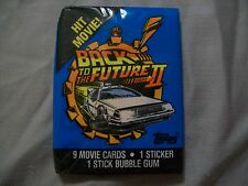 Back To The Future 2 Trading Cards 1 Unopened Pack 80s Michael J Fox 90s