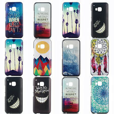 Hot Vogue Patterned Hard PC Back Case Cover For HTC One M9