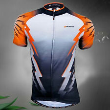 NUK Men Outdoor Sport Cycling Jersey Bike Breathable T-shirt Clothing Wear M-XXL
