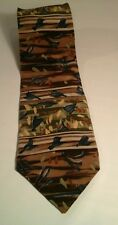 Jerry J. Garcia Silk Necktie Landscape With Eye Collection Ten
