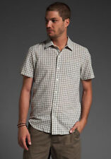NEW w/TAGS! EVER Men's PAVIA GINGHAM Short Sleeve  BUTTON DOWN SHIRT - SOLD OUT!