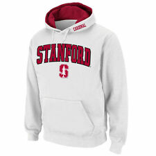 Stanford Cardinal Stadium Athletic Arch & Logo Pullover Hoodie - White - College