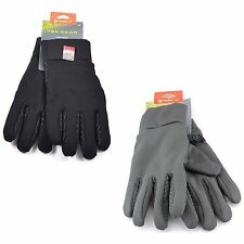 Tek Gear Lined Stretch Winter Gloves for Men - Warm Tek Cold Weather