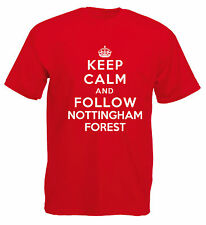 Keep Calm Football T-Shirt - Nottingham Forest