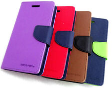 MERCURY WALLET STYLE FLIP DIARY CASE COVER FOR MICROMAX CANVAS 2 PLUS A110 A110Q