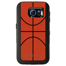 CUSTOM OtterBox Defender Case for Galaxy S5 S6 S7 Basketball Drawing