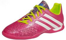 Adidas 'P Absolado' Pink/Green/White Lace Up Synthetic Indoor Football Trainers