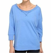 COLUMBIA M, L Harbor Blue My Terry-Tory™ Sweatshirt Top *NWT*