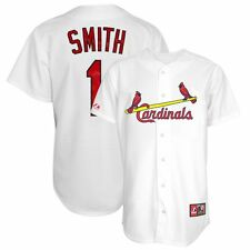 Ozzie Smith 1967 St Louis Cardinals Home (White) Cooperstown Jersey Men's