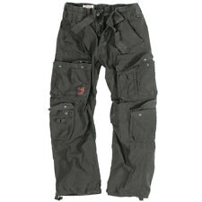 Surplus Mens Combat Trousers Army Cargo Work Wear Pants Casual US Vintage Black