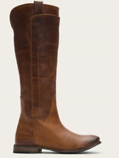 Frye Women's Paige Tall Cognac Leather Riding Boots