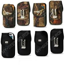 Strong Heavy Duty Canvas Pouch Holster Clip FOR Cell Phone To Fit LIFEPROOF Case