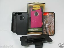 For iPhone 5s/5c Protective Case Cover (Belt Clip fits Otterbox Defender Series)