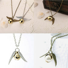 Hippy Fashion Angel Wing Ballpoint Populares Charm Pendent Necklace HOT SALE