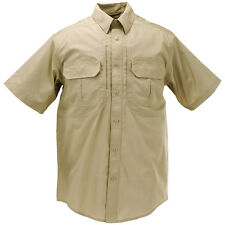 5.11 Taclite Pro Mens Shirt Short Sleeve Tactical Security Police Guard Khaki