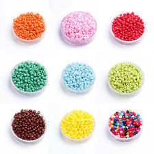 Pick New DIY 1000Pcs 2mm Czech Glass Spacer Loose Beads bracelet Jewelry Making