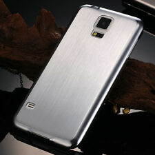 Luxury Brushed Aluminum Metal Hard Back Cover Case For Samsung Galaxy S5 I9600