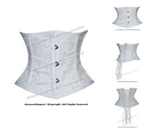 Double Steel Boned Waist Training Brocade Underbust Corset #HC8079-G-DB(BRO)