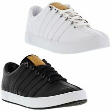 K Swiss Classic II Mens White Leather Trainers Shoes Size UK 10-11