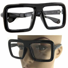 Big Black Frame Nerd Glasses : Big frame glasses - Zeppy.io